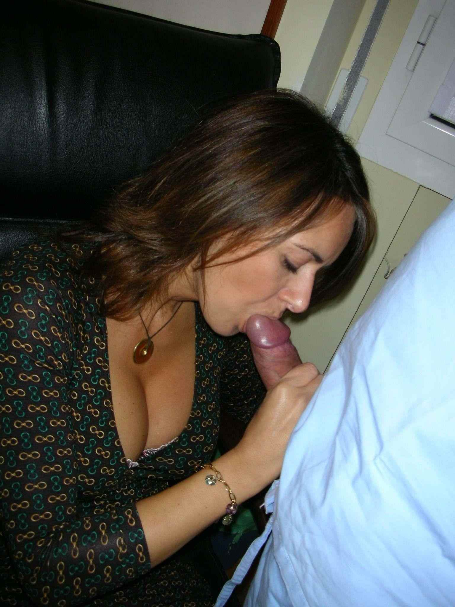 image Trophy wife swallows cum