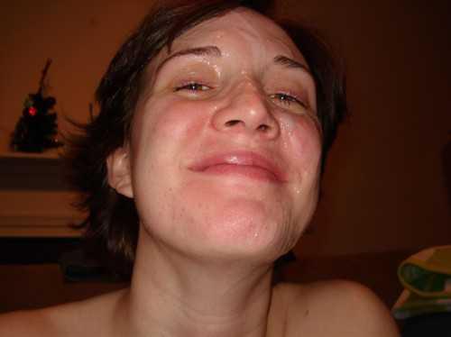 femme recouverte de sperme coquin coquinne
