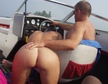 Pipe sur un bateau